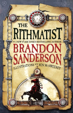 Brandon Sanderson's The Rithmatist book cover on Goodreads