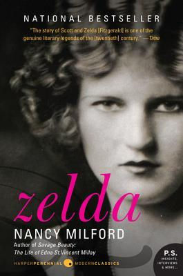 book cover: zelda by nancy milford