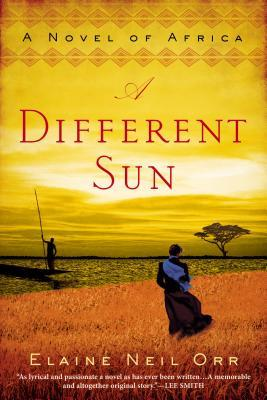 book cover: a different sun by elaine neil orr
