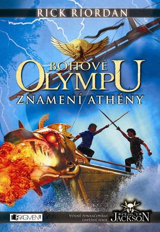 Znamení Athény (Bohové Olympu, #3)