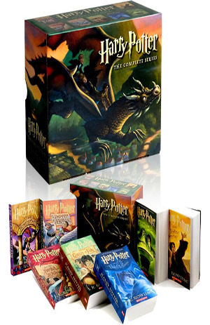 Harry Potter Boxset (Harry Potter, #1-7)