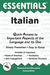 The Essentials of Italian