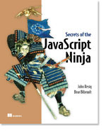 cover thumbnail, Secrets of the JavaScript Ninja