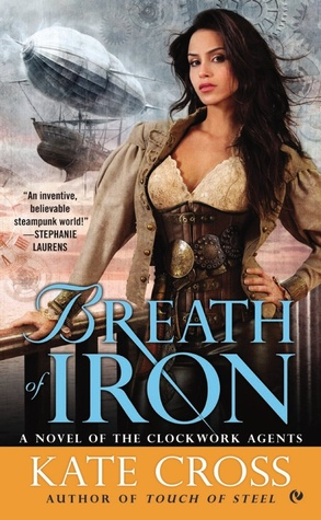 Breath of Iron (Clockwork Agents, #3)