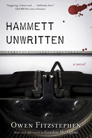 book cover: hammett unwritten by owen fitzstephen