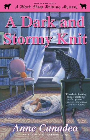 http://www.goodreads.com/book/show/17571847-a-dark-and-stormy-knit