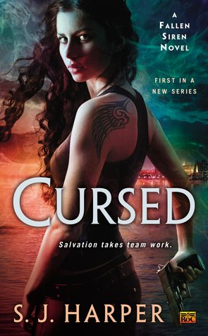{Blog Tour} Review: Cursed by S.J. Harper & Giveaway