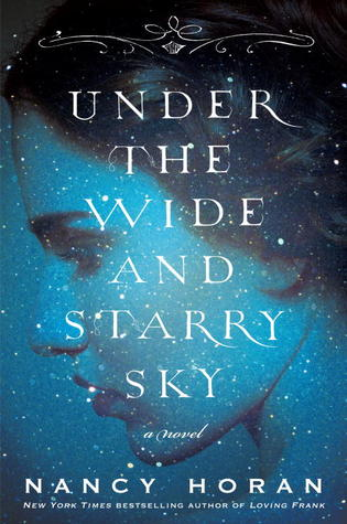 book cover: under the wide and starry sky by nancy horan