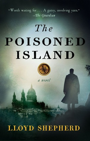 book cover: the poisoned island by lloyd shepherd