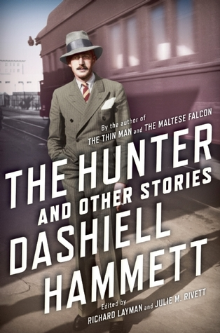 book cover: the hunter and other stories by dashiell hammett