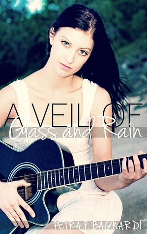 A Veil of Glass and Rain by Petra F Baghardi book cover