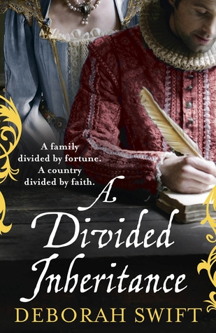 Book cover: A Divided Inheritance by Deborah Swift