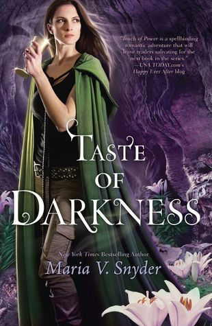 Review: Taste of Darkness by: Maria V. Snyder+ Giveaway