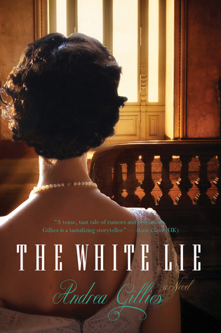 book cover: the white lie by andrea gillies