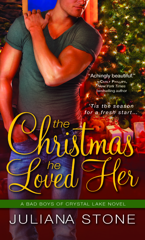 The Christmas He Loved Her (Bad Boys of Crystal Lake, #2)