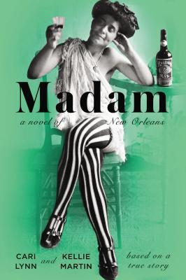 book cover: madam by cari lynn