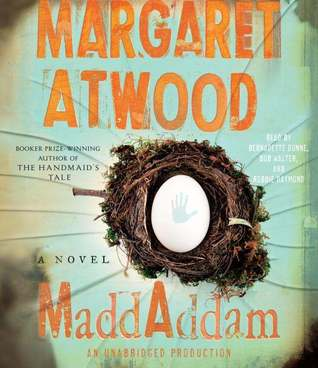 Audiobook Review – MaddAddam (MaddAddam Trilogy #3) by Margaret Atwood