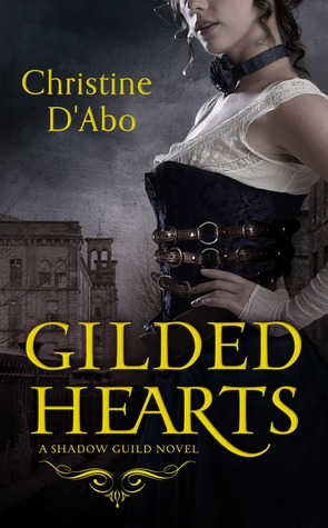 book cover: gilded hearts by christine d'abo