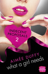 What a Girl Needs (Indecent Proposals, #2)