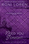 Need You Tonight (Loving on the Edge, #5)