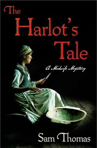 book cover: the harlot's tale by sam thomas
