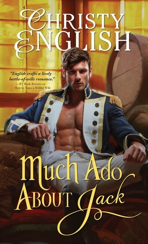 book cover: much ado about jack by christy english