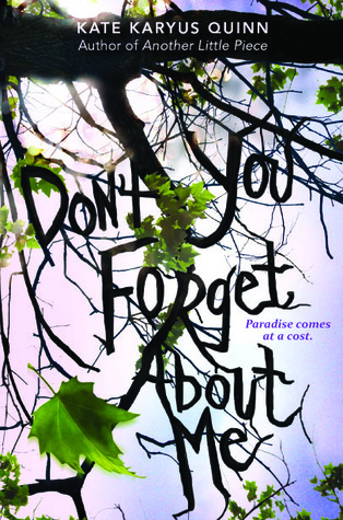 Book I Covet: Don't You Forget About Me by Kate Karyus Quinn