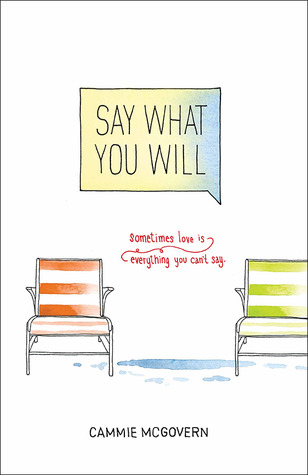 Book I Covet: Say What You Will by Cammie McGovern
