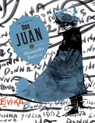 book cover: don juan by alessandro baricco