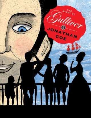 book cover: gulliver by jonathan coe