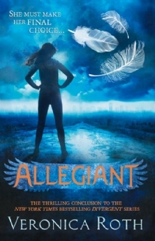 3.5 stars to Allegiant (Divergent #3) by Veronica Roth