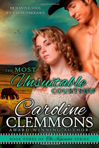 THE MOST UNSUITABLE COURTSHIP by Caroline Clemmons