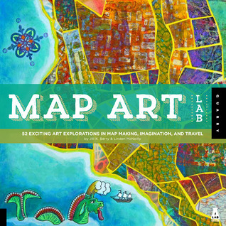Map Art Lab by Jill K Berry