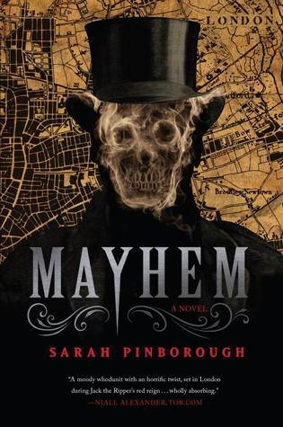 Release Day Feature + Giveaway! Mayhem by Sarah Pinborough
