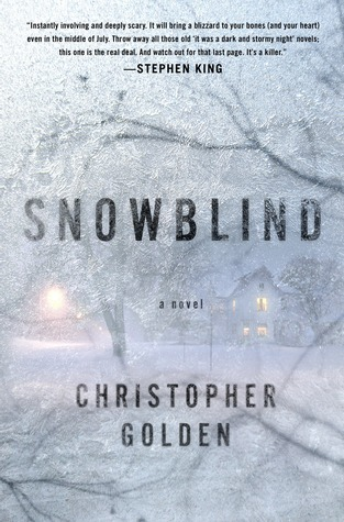 Snowblind Cover, by Christopher Golden
