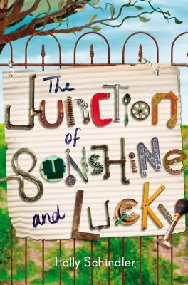 All About THE JUNCTION OF SUNSHINE AND LUCKY by Holly Schindler