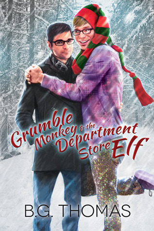 Book review Grumble Monkey and the Department Store Elf by B.G Thomas (Advent Calendar Event)