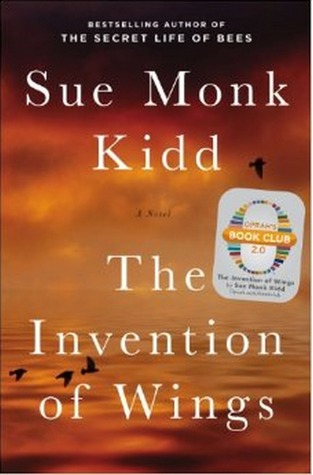 book cover: the invention of wings by sue monk kidd
