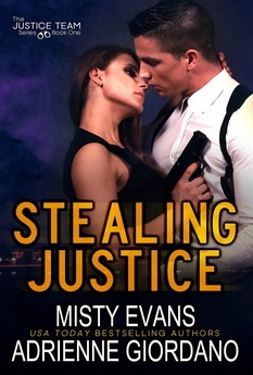 Brenda's Review: Stealing Justice by Misty Evans and Adrienne Giordano