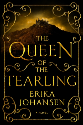 book cover: the queen of the tearling by erika johansen