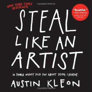 book cover: steal like an artist by austin kleon