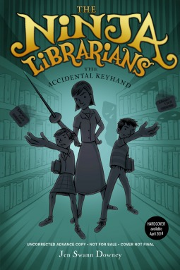 The Ninja Librarians by Jennifer Swann Downey