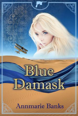 Blue Damask