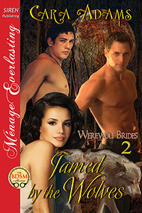 Tamed by the Wolves (Werewolf Brides, #2)