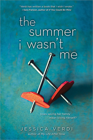 Early Review: The Summer I Wasn't Me by Jessica Verdi