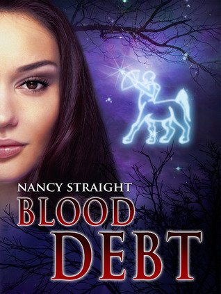 Book cover for Blood debt by Nancy Straight