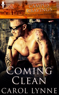 Review: Coming Clean (Campus Cravings #18) by Carol Lynne