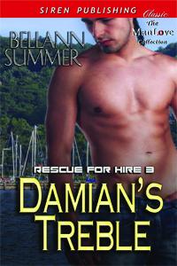 Damian's Treble (Rescue for Hire #3)