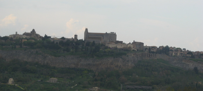 Orvieto from a distance